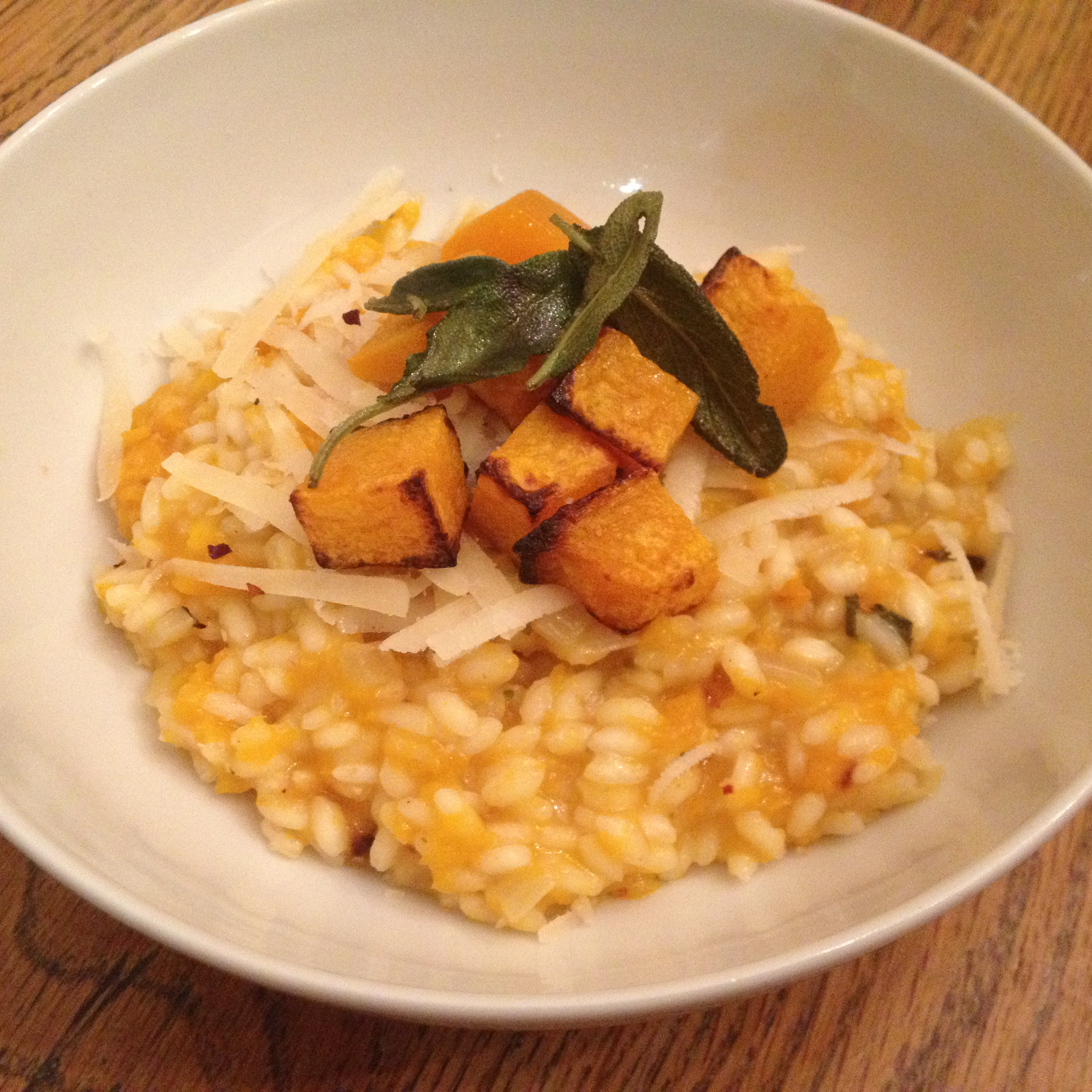 Roasted Butternut & Sage Risotto