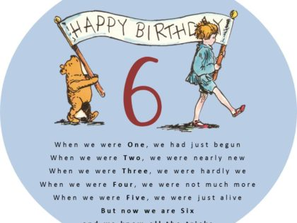 Now we are six!