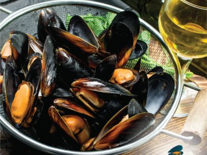 Munching on Mussels